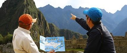 Servicio de guía en montaña Machu Picchu